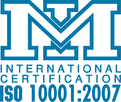 Iso-10001 Certificate