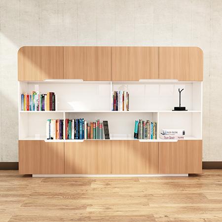 کتابخانه-کوتاه-ویژه-اتاق-مدیر-عامل-برلیانت-تیپ-6030 - https://mohitara.com